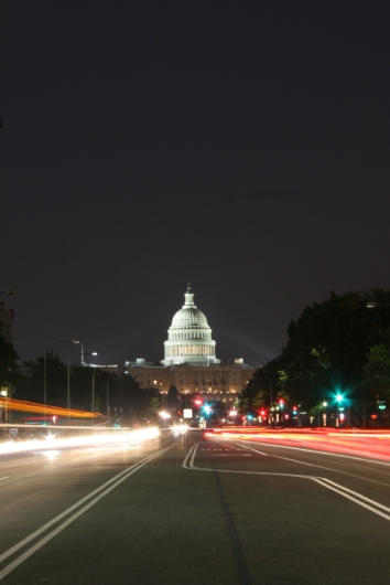 Capitol Street at Night