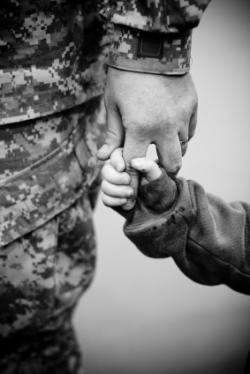 Soldier Child Hand