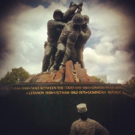 USMC Memorial Front